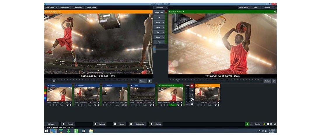 vMix integrator - Vi designer, integrerer og tilpasser til opgaven