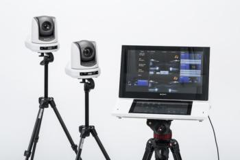 Alt samlet i en enhed samt kameraer med indbygget kamerassistent, der følger personen foran kameraet