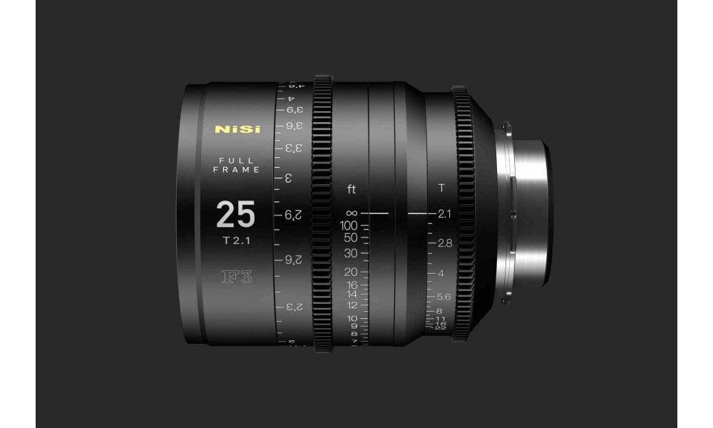 NiSi F3 25mm Cine Prime