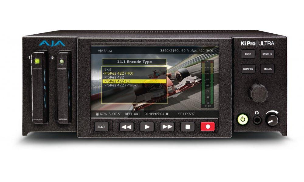 AJA Ki Pro Ultra 4K Recorder / Afvikler