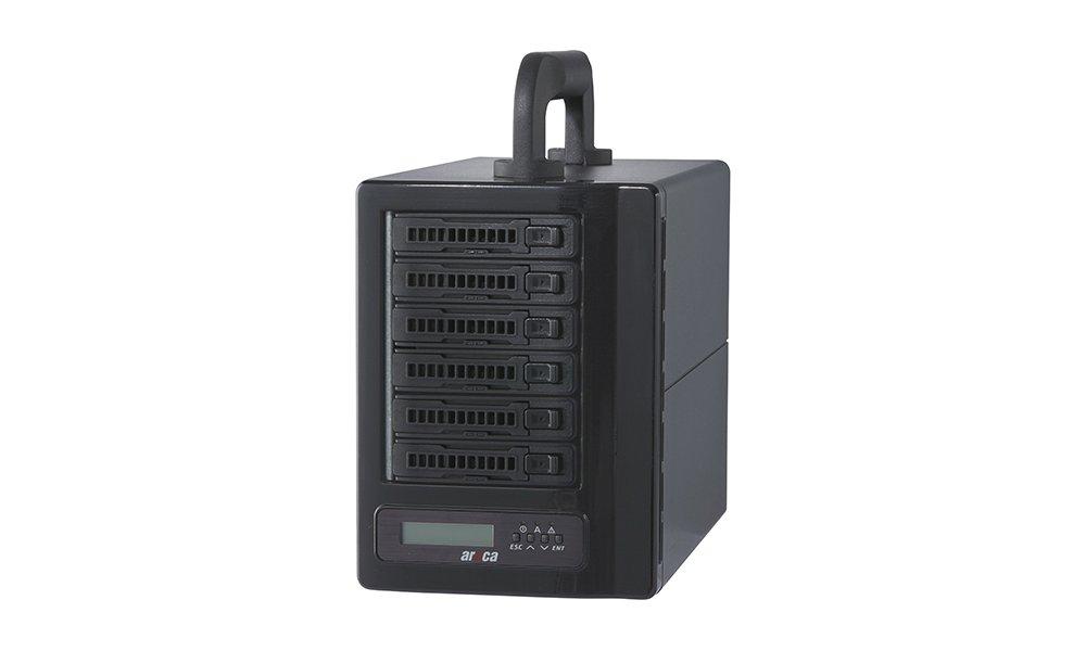 Areca Thunder6 T3 Mobile Raidsystem inkl. 3 års ProCare Data