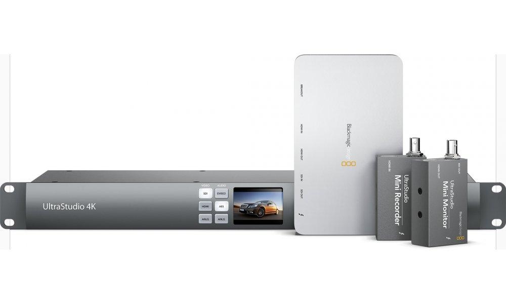 Ultrastudio Thunderbolt & USB3 video I/O
