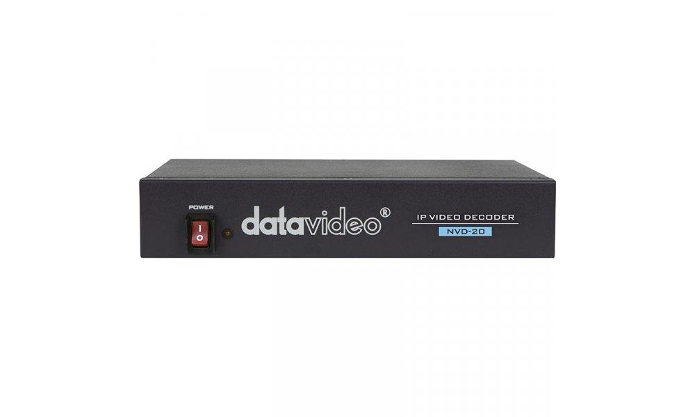 Datavideo NVD-20 IP HD Video Decoder med HDMI ud - DEMO