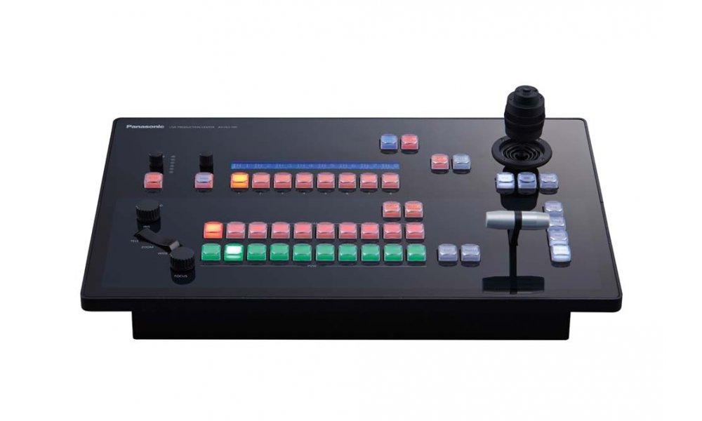 Panasonic AV-HLC100 NDI 1M/E Switcher PTZ Control & Audio mixer