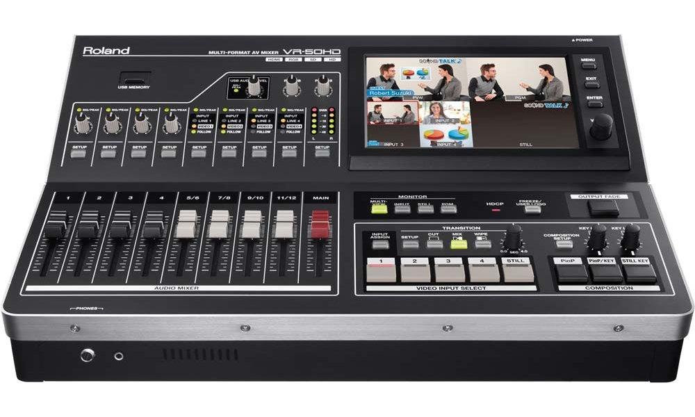 Roland VR-50HD Multi-Format AV Mixer (udlejning pr. døgn)
