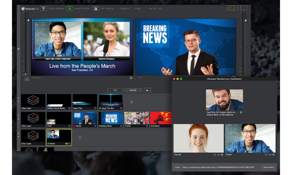 Telestream - Wirecast Pro upgrade fra Studio v4-v7