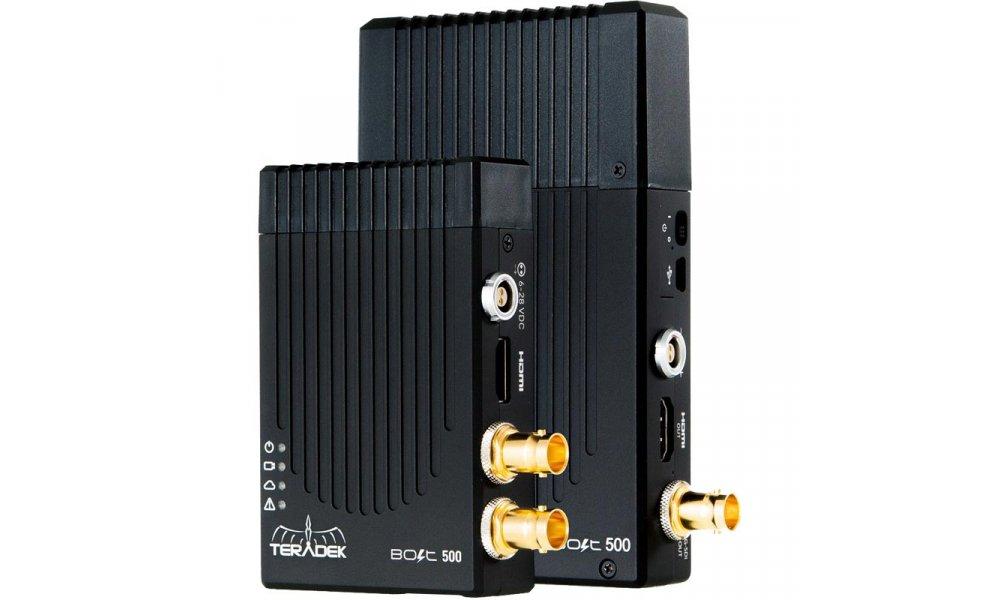 TeraDek BOLT Pro 500 Wireless HD-SDI / HDMI Dual format Transmitter / Receiver Set