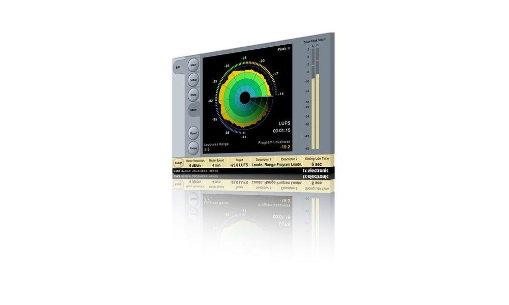 TC Electronics LM2 Radar - Loudness Meter plugin