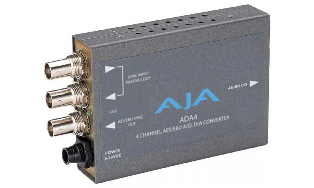 AJA ADA4 Audio A/D & D/A Mini Converter