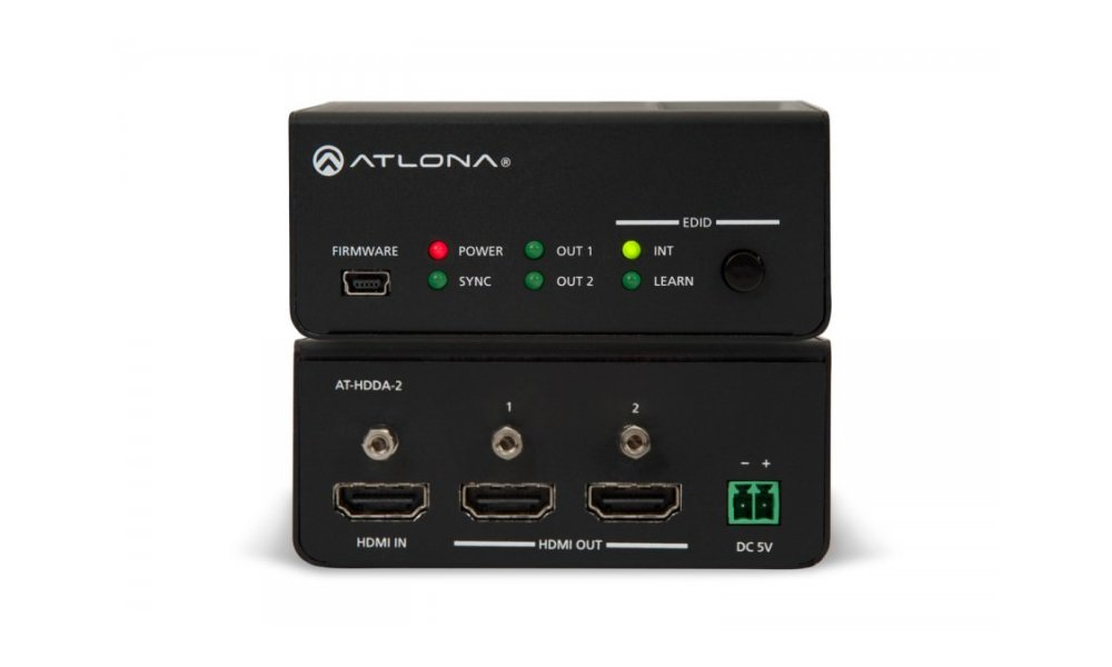 ATLONA HDMI 1 by 2 Distribution Amplifier