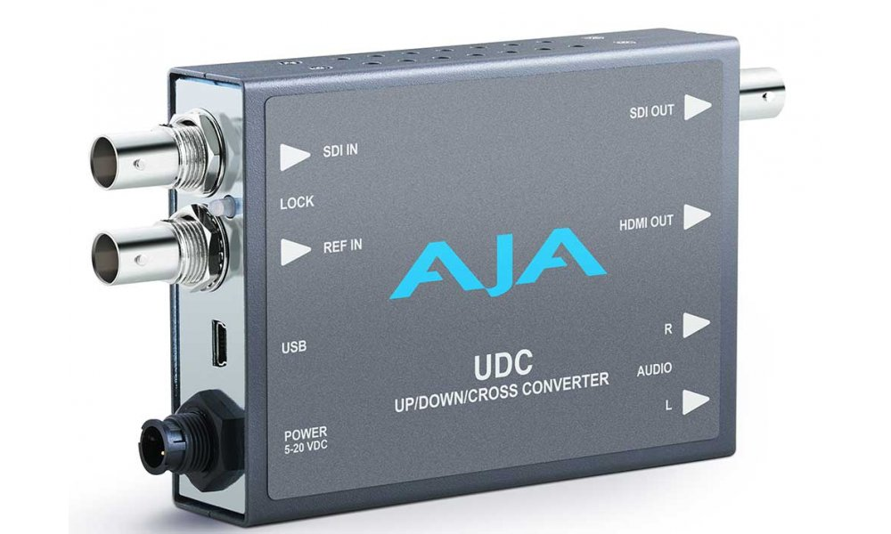 AJA UDC UpDownCross Mini Converter