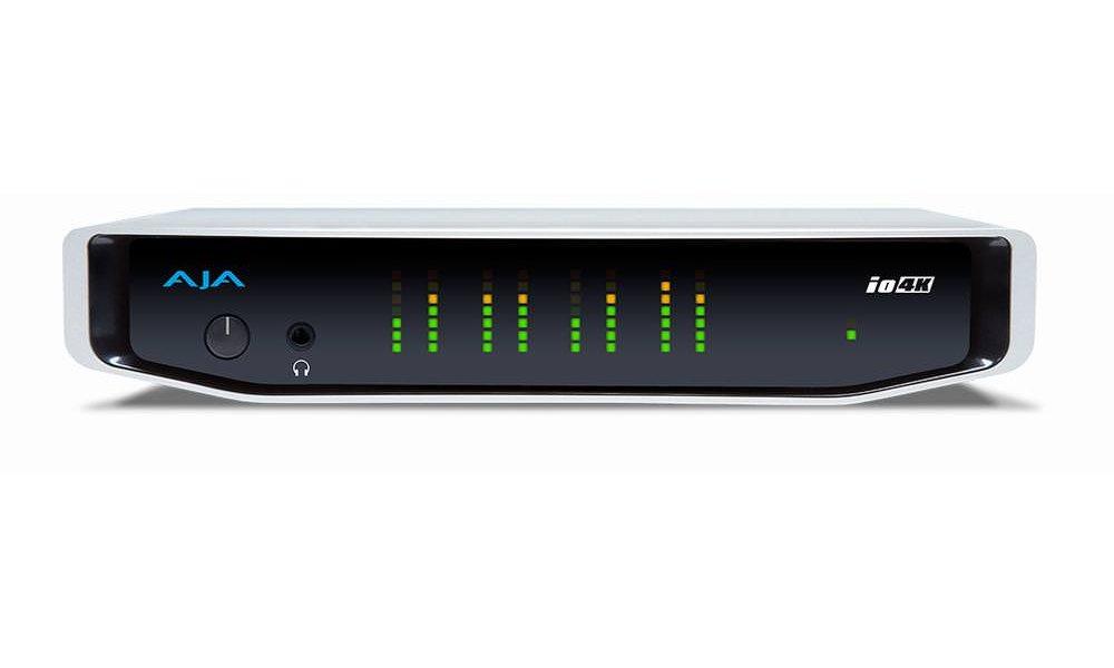 AJA IO 4K - 4K video I/O med Thunderbolt 2