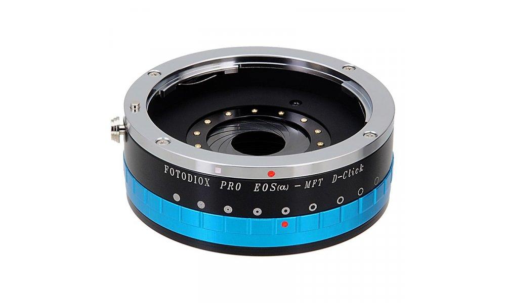 Fotodiox Canon EOS til MFT Adapter med blændering