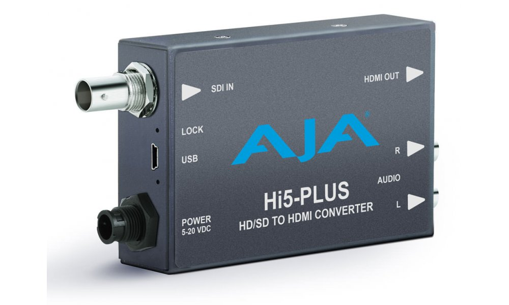 AJA Hi5-Plus SDI to HDMI Mini Converter