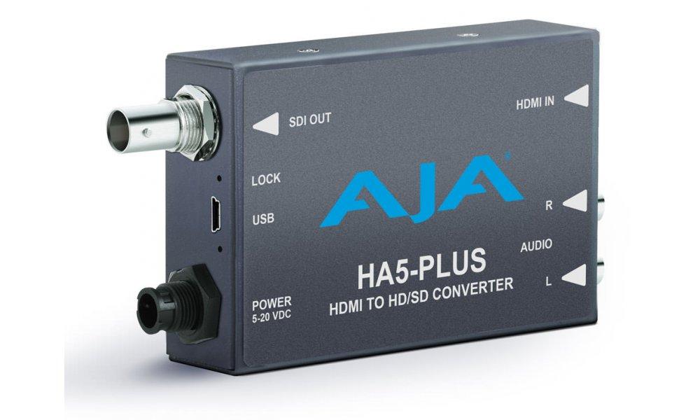 AJA HA5-Plus HDMI to SDI Mini Converter