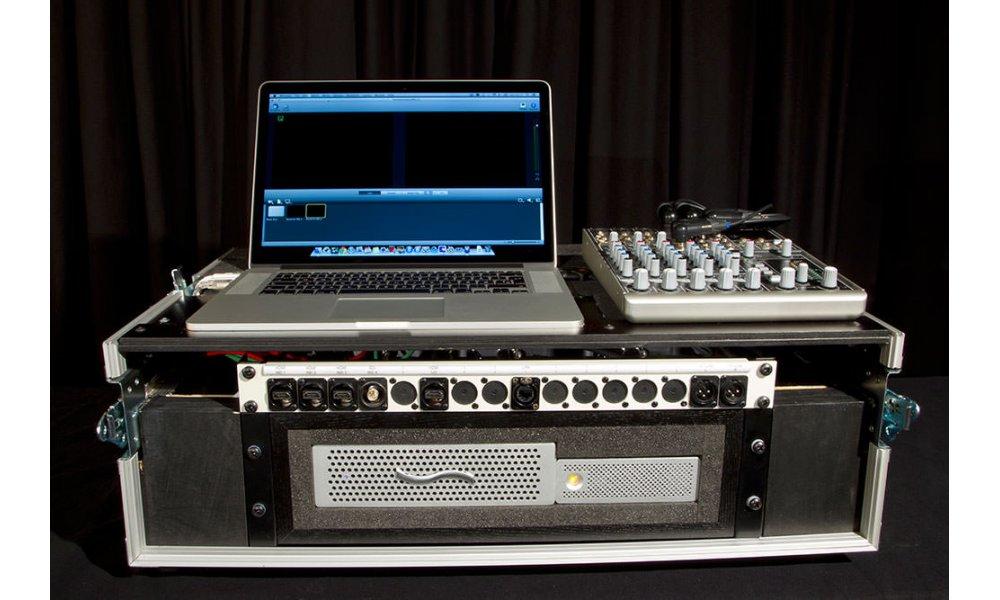 FlyCast4 - Transportabel produktion og streaming