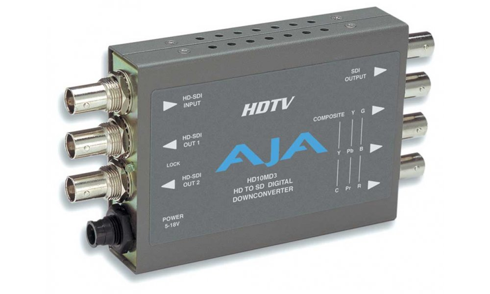 AJA HD10MD3 SDI to Analog Mini Converter